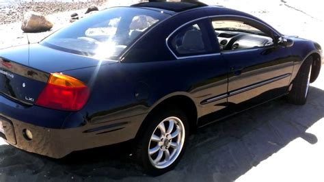 Chrysler Sebring Lxi by 2002 Chrysler Sebring Lxi Coupe Walk Around