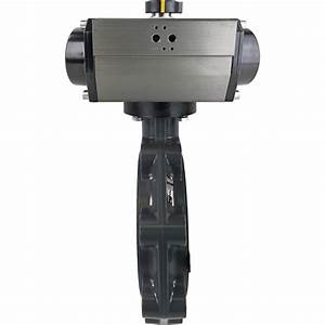 8 U2033 Air Actuated Pvc Butterfly Valve