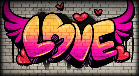 Graffiti Love : Arte Con Graffiti