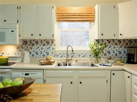 inexpensive kitchen backsplash ideas budget backsplash project vintage vinyl removable 4686