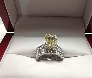 platinum and yellow diamond custom made wedding ring set With wedding rings custom made