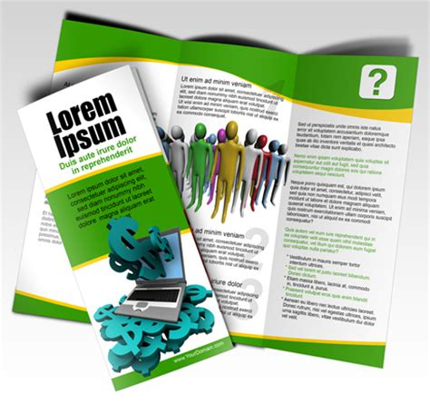 3 Panel Brochure Template How To Set Up Tri Fold Brochures Letter Size Tri Fold Brochure Script Set Cover