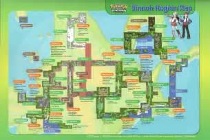 Pokemon Light Platinum Ds Rom by Pokemon Platinum Map Images Pokemon Images