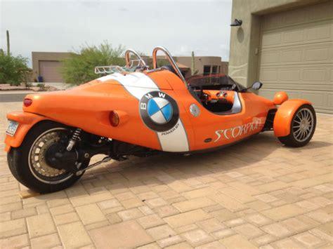 Grinnall Scorpion Iii Reverse Trike Motorcycle
