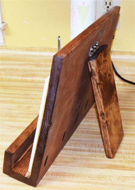 wooden ipad stand ideas  pinterest ipad