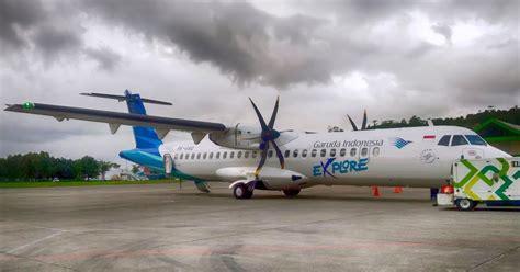 Foto Pesawat ATR 72 Garuda Indonesia
