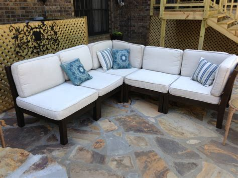 sectional patio furniture sale patio furniture kmart