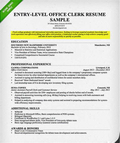resume exles for objectives for students how to write a career objective on a resume resume genius