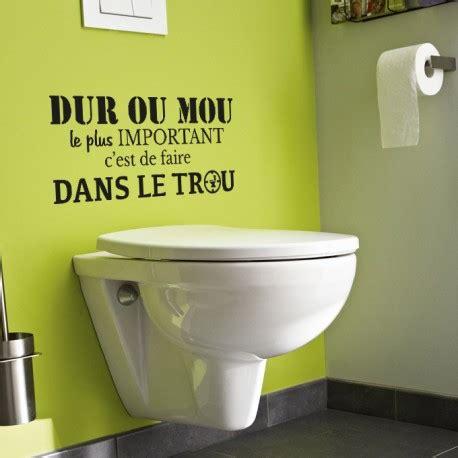 stickers muraux toilette stickers d 233 coration citation toilettes