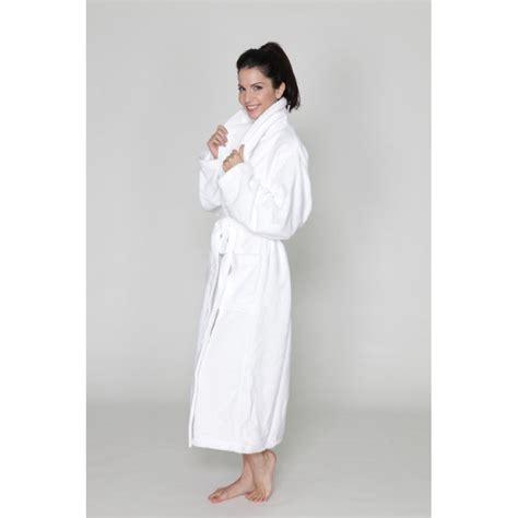 robe de chambre ratine robe de chambre col châle femme massageboutik com