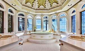 The castle on lake tahoe on the market for 26m on the for Bathrooms in castles