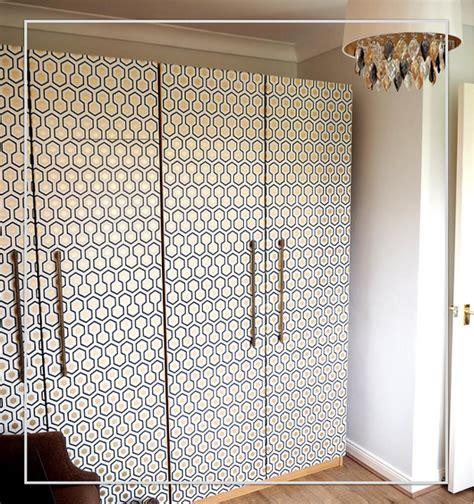 Wallpaper For Cupboard Doors by Diy Wallpaper Pax Hack Wallpaper We