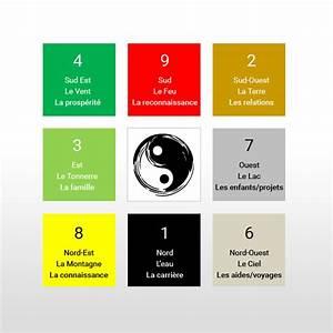 le pa kua le carre lo shu feng shui maggy oliveau en With exceptional le feng shui et les couleurs 4 le fengshui la cuisine