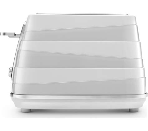 Delonghi 4 Slice Toaster by Buy Delonghi Avvolta Cta4003w 4 Slice Toaster White