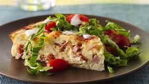 Impossibly Easy Chicken Club Pie recipe from Betty Crocker