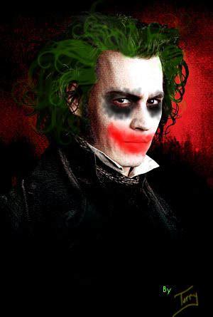 johnny depp   joker picture ebaums world