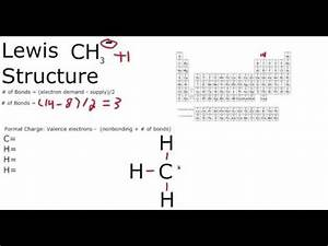Ch3 Lewis Structure How To Draw The Lewis Structure For Ch3