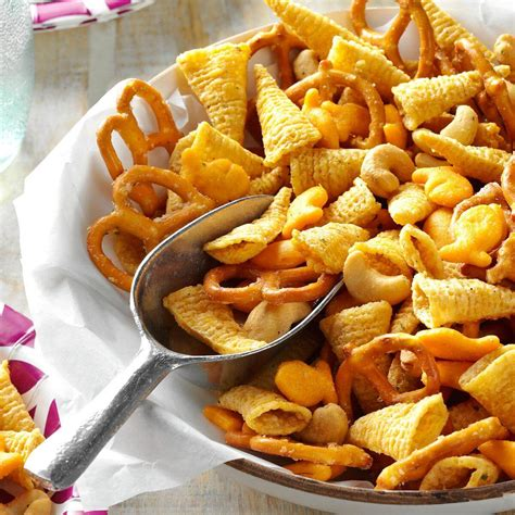 ranch snack mix recipe taste of home