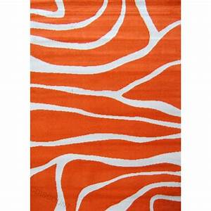 paradise tapis de salon orange beige 80x150 cm achat With tapis salon orange