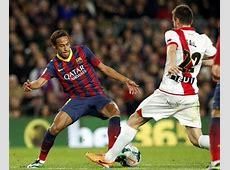 Barcelona 60 Rayo Vallecano Neymar returns and scores a