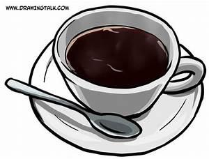Cup Cartoon Drawing
