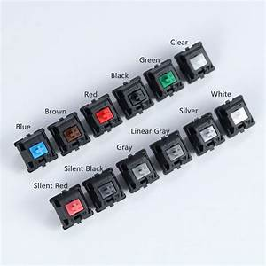 Original Cherry Mx Switches Brown  Red  Blue  Black  White