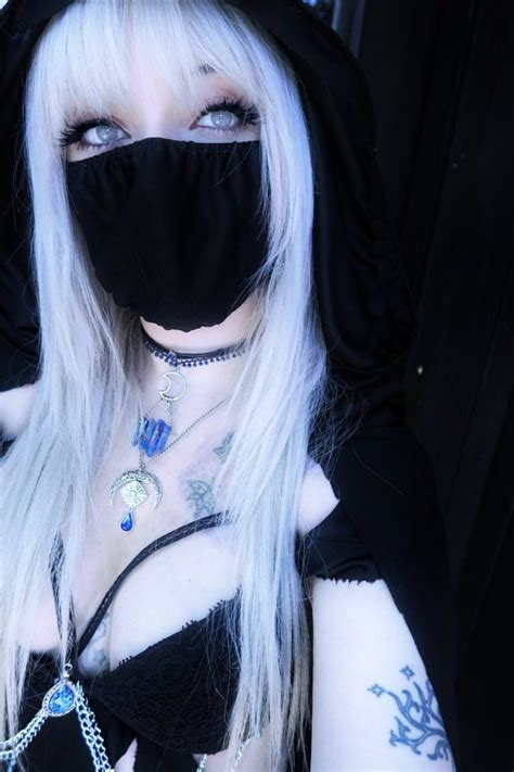 leda cosplaying  character  created called oscerin cute emo girls