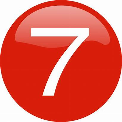 Number Button Clker Transparent Clip Vector Clipart