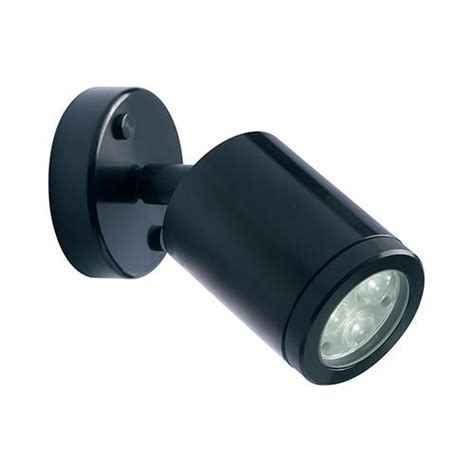 collingwood led wall flood light led lighting wl020a blk