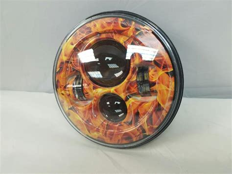 7″ Daymaker Replacement Flame Design Projector Hid Led Light Bulb Headlight Motorcycle Harley 18x1 Muzzle Brake Riveted Pads Bmx Front Cable Drum Cleaner Can I Put Fluid In My Car Myself Weatherby How To Replace Bike Disc Rustoleum Caliper Paint