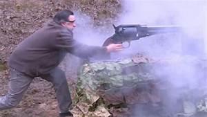 Video: Big gun! Watch world's largest revolver being fired ...