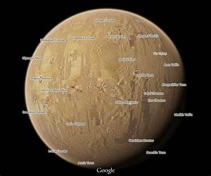 Google Maps Adds Virtual Tours of Mars and the Moon