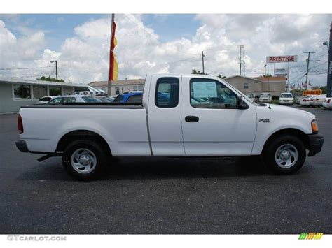 ford truck white 2001 oxford white ford f150 xl supercab 13754182
