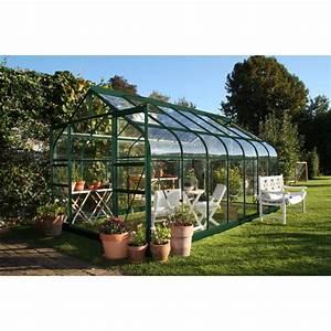 Serre Acier Verre : serre de jardin supreme verre tremp halls 2 ~ Premium-room.com Idées de Décoration