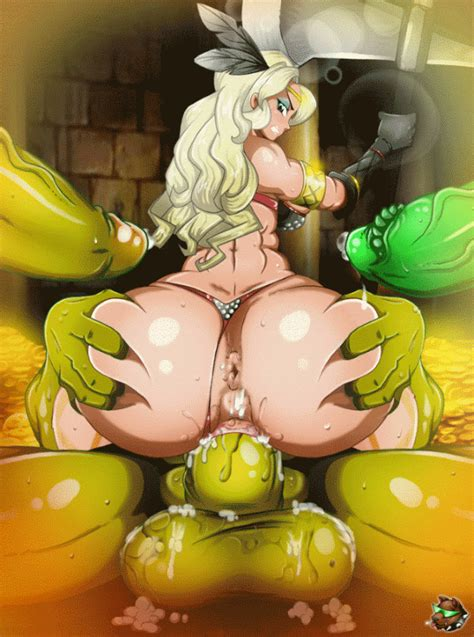 amazon vs orc [by gmeen] hentai online porn manga and doujinshi