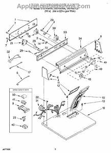 Parts For Roper Res7648ew0  Section Parts