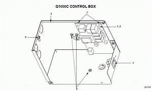 Manitowoc Q1000c Series Ice Machine Parts Diagram