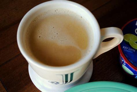 how hot coffee gulp peanut butter fingers