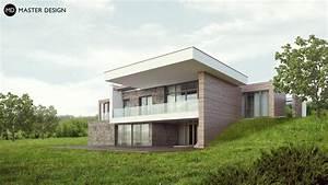 Dům ve svahu s terasou