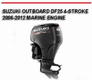 Suzuki Outboard Df25 4
