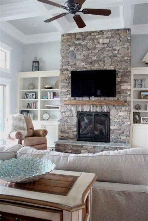 made rock for fireplaces 25 best ideas about fireplace built ins on