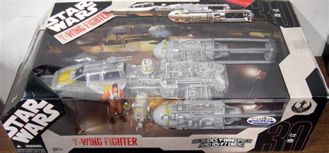 Gold Squadron Y-wing Fighter Vehicle Star Wars