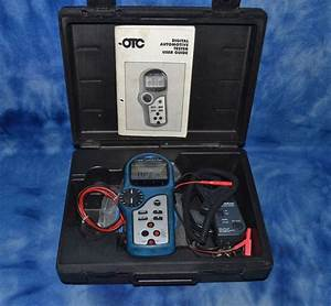 Otc 3545 Digital Automotive Tester With Probe Leads And