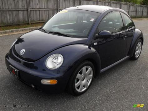 2002 Volkswagen New Beetle Glx 1.8t Coupe In Marlin Blue