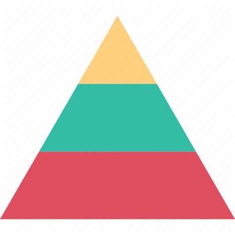 Chart Diagram Pyramid Icon