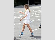 Cheryl Cole Shows off Her Legs X Factor Auditions in