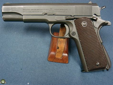 Sold Us Ww2 Colt 1911a1 June 1943 Production Matching