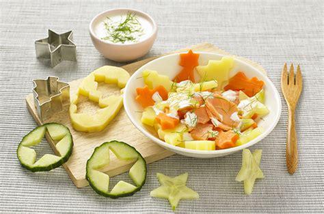 cuisine de bébé salade tiède d étoiles truite et crème citron cuisine