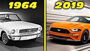 Ford Mustang History / Evolution (1964 - 2019) [4K] - YouTube