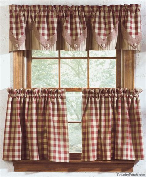 Country Kitchen Curtains  Thearmchairscom Curtains